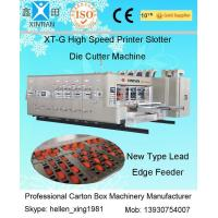 Buy cheap Cardboard Box Making Corrugated Carton Machinery Flexo Printer With Lead Edge Feeder from Wholesalers