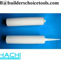 China 310ml empty silicone cartridge made of plastic factory