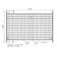 China 2.1mx2.4m Hot-Dipped Galvanized Building Construction Temporary Fence Panel For Sale Melbourne Area Discount on sale