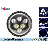 China 7 Inch 60W Cree Led Replacement Headlights High / Low Beam H 5400 L 1800 Lumen on sale