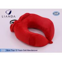 Buy cheap U Shape Memory Foam Pillows / Multifunctional U shape Neck Pillow With Pouch from Wholesalers