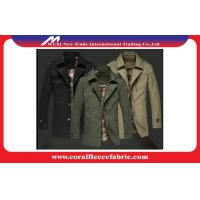 China Warm Polyester Winter Men Long Trench Coat Outerwear Overcoat Wind-proof factory