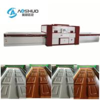 China Membrance Laminating Wood Door Press Machine Woodworking Double Table on sale