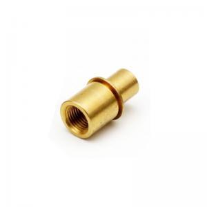 China Non Standard Polishing 8*5mm AL2014 Brass Sleeve Bushing factory