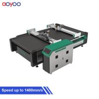 China AOYOO 1625 model pu foam cutter for carbon fibre prepreg and sheet rubber on sale