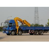 China Durable 16 Ton Transporting Articulated Boom Crane , Hydraulic System factory
