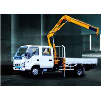 China 3200kg   knuckle boom crane Truck Mounted 6.72 T.M Lifting factory