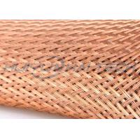 Buy cheap High Density Weave Tinned Copper Braided Sleeving For Wire Assembly from Wholesalers