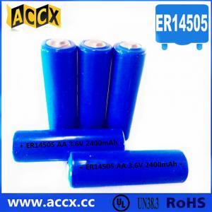 China ER14505 3.6v 2400mAh for the wireless temperature sensor factory