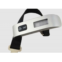 China 3V CR2032 Battery LCD 50kg Electronic Luggage Scale factory