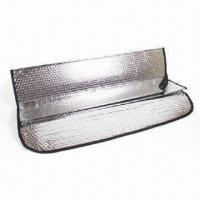 China Car Sunshade, Measuring 62 x 42 x 67cm, Available in Black and Silver Colors factory