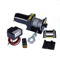 Buy cheap 2000lb portable electric boat winch 12V from Wholesalers