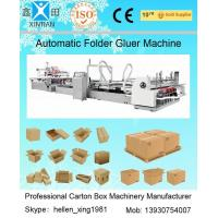 China Automatic Folder Gluer Carton Packaging Machinery 14.5KW 380V 50HZ , 3 Phase factory