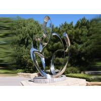 Buy cheap Custom Size Stainless Steel Sculpture For City Decoration OEM / ODM Acceptable from Wholesalers