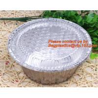China disposable food packaging aluminum foil container, tray, box Customised food Aluminum Foil, bakery box, bakery container factory