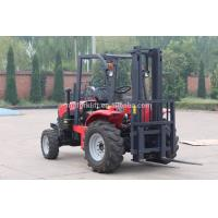 China Rough All Terrain Stacker Forklift 1.5Ton 4wd With Hydraulic Motor on sale