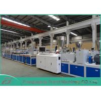 Buy cheap High Output Pvc Profile Extrusion Line , Pvc Door Manufacturing Machine SJSZ-80/156 from Wholesalers