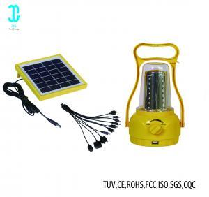 China Waterproof Solar Powered Camping Lights Solar Panel Lantern 2 Years Warranty factory