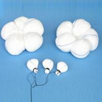China Gauze Balls with Cotton Filling factory