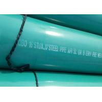 Buy cheap 20 INCH X 11.91MM Green Coated Gas Pipe Hot Galvanized / 3LPE Surface Treatment from Wholesalers