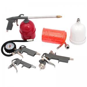 China 5PCS Kit Air Compressor Accessories Spray Gun Inflator Air Blow Gun Hose Spray Paint C on sale