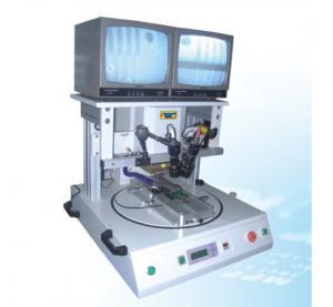 Buy cheap Pneumatic Pulse Heat Bonding Machine , Hot Bar Fpc / Pcb Soldering Machine from Wholesalers