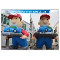 China Giant Inflatable Cartoon Characters Air Big Boy 7m for Advertising Decoration factory