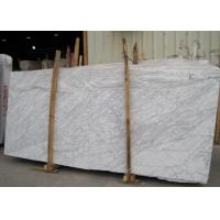 External  Wall Cladding Carrara White Marble Slab , Big Marble Garden Slabs