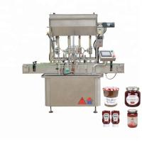 China 304 Stainless Steel Honey Filling Machine For Semi - Liquid Products factory