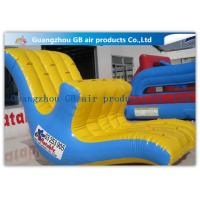China Floating Inflatable Water Game Water Seesaw Toys Moving Up And Down In Lake / Ocean factory