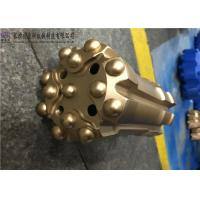 China Quick Delivery Threaded Button Bits Fully Carburization For Environmental Drilling factory