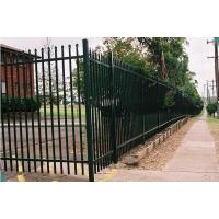 Buy cheap Galvanized Steel Wire Mesh Fence Panels Picket Tubular For Boundary Wall from Wholesalers