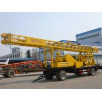 Buy cheap trailer mounted well drilling rig china supplier from Wholesalers
