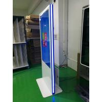 China Vertical Led Strip Light Base Touch Screen Kiosk 49 55 Inch Wide Viewing Angle factory
