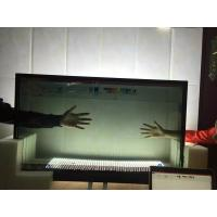 China Colorful Refrigerator With Lcd Touch Screen , Flexible Size Transparent Lcd Fridge factory
