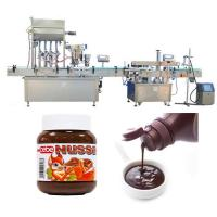 China Automatic Tomato Sauce Bottle Filling Machine 10ml - 500ml Filling Capping Volume factory