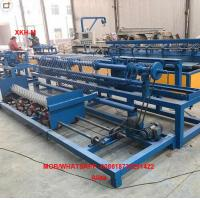 China 3m width Fully-Automatic single wire feeding Chain Link Fence making Machine with Best Price from China factory
