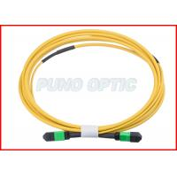 Buy cheap 12 Cores MPO Fiber Optic Cable OS2 Single Mode from Wholesalers