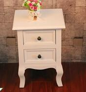 french style corner bedroom wardrobe furniture white wood beside table