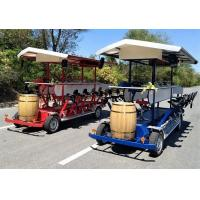 Buy cheap 15 person Four wheel beer bike mobile bar tour beer Party bike,Four Wheel Beer Bike, Mobile Bar Tour beer Party Bike,Chi from Wholesalers