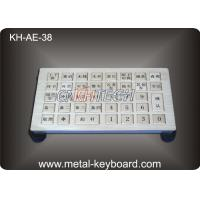 Water proof Metallic Industrial Keyboards IP65 For Parking control system