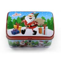China Vintage Christmas storage tins for gift factory