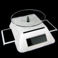 China Solar powered phone jewellery display stand,workable under indoor light factory