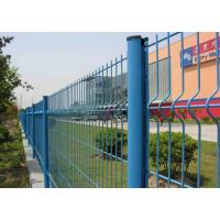 China Welded Wire Mesh Fence Panels With Triangle Shape used For Garden on sale