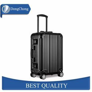 China Lightweight Colorful Aluminum Cabin Luggage Suitcase Anodic Oxidation factory