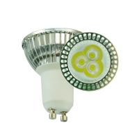 China High Power 3W 250lm 5000 - 10000K LED GU10 Light Bulb For Display Case on sale