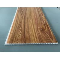 China Waterproof Wooden Color Decorative PVC Panels Easy Cleaning And Maintenance factory