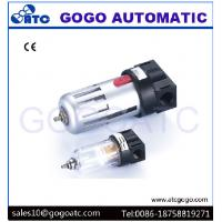 1/2 Inch Port Air Compressor Regulator , Copper Filter Cartridge Manual Air Regulator Valve