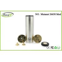 Buy cheap Mutant 26650 Mechanical Mod E Cigarette Big Vapor Stainless Steel 30mm Diameter from Wholesalers
