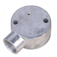 China 20mm / 25mm Conduit Junction Box / One Way Junction Box ISO9001 / SGS Approval factory